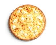 Вкусная горячая пицца сыра стоковые изображения