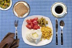Вкусная еда овощей Стоковое Изображение