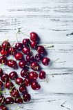Вкусная и здоровая закуска Вишня ягоды с витаминами Стоковая Фотография