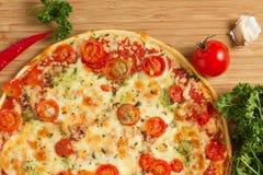 Вкусная пицца Стоковое Изображение RF