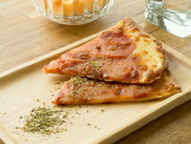 вкусная пицца Стоковое фото RF
