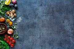 Вкусная предпосылка овощей Стоковые Изображения