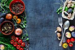 Вкусная предпосылка овощей Стоковая Фотография