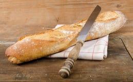 вкусное багета французское Стоковое Изображение