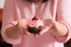 Вкусное пирожное Стоковые Изображения RF