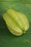 вкусное свежее зеленое здоровое starfruit Стоковое Изображение