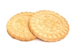 2 вкусное, свежие печенья Стоковые Изображения RF