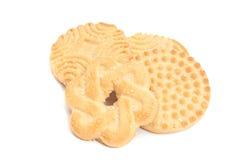 4 вкусное, свежие печенья Стоковая Фотография