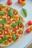 Вкусно простой пирог томата Стоковая Фотография