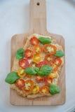 Вкусно простой пирог томата Стоковые Изображения RF