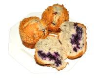 Вкусные булочки голубики Стоковые Фото