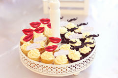 вкусные булочки Стоковое Изображение