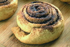 Вкусные в форме улитк печенья Стоковая Фотография