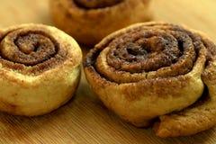 Вкусные в форме улитк печенья Стоковые Изображения RF