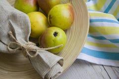 вкусные груши Стоковое Фото