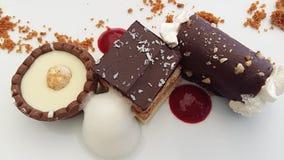 вкусные десерты Стоковые Изображения RF