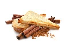 Вкусные здравицы циннамона Стоковая Фотография RF