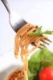 вкусные макаронные изделия Стоковая Фотография