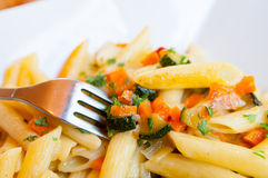 Вкусные макаронные изделия Стоковая Фотография RF