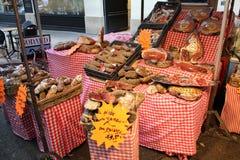 Вкусные особые французские блюда стоковое фото