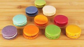 Вкусные очень вкусные печенья macaroons Стоковая Фотография RF