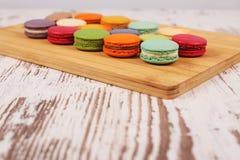 Вкусные очень вкусные печенья macaroons Стоковые Изображения RF