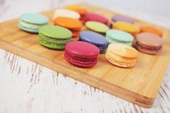 Вкусные очень вкусные печенья macaroons Стоковые Фото