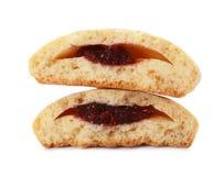 Вкусные печенья на исламские праздники изолированные на белизне стоковые фотографии rf