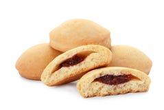 Вкусные печенья на исламские праздники изолированные на белизне стоковые изображения rf
