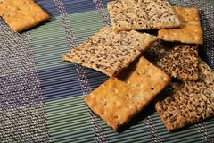 Вкусные печенья разных видов 2 вида печенья стоковое фото