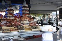 Вкусные продукты моря стоковые фотографии rf