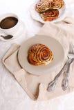 Вкусные плюшки стоковое фото rf