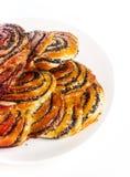 Вкусные плюшки стоковое изображение