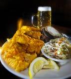 вкусные рыбы тарелки Стоковые Фото