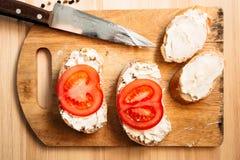 вкусные сандвичи Стоковая Фотография