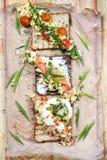 вкусные сандвичи Стоковое Изображение RF