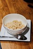 Вкусные свежие макаронные изделия Стоковое Фото