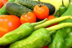 вкусные свежие овощи стоковые изображения rf