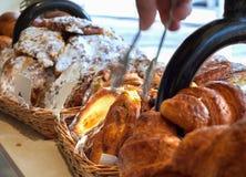 Вкусные сладостные плюшки Стоковые Фотографии RF
