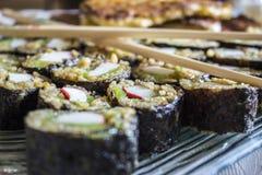 вкусные суши Стоковое Фото