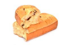 Вкусные хлебы стога изолированные на белой предпосылке Стоковые Фотографии RF