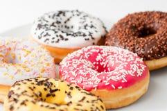 вкусные donuts свежие Стоковая Фотография