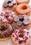 вкусные donuts сладостные Стоковая Фотография