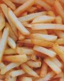 вкусные fries франчуза Стоковые Фото
