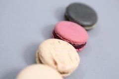 вкусные macarons Стоковое Фото