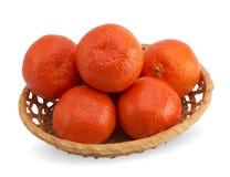 Вкусные tangerines Стоковое фото RF