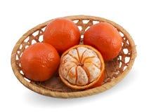 Вкусные tangerines Стоковые Изображения RF