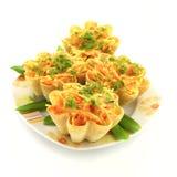 вкусные tartlets Стоковое Фото