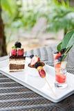 вкусный десерт Стоковое Изображение
