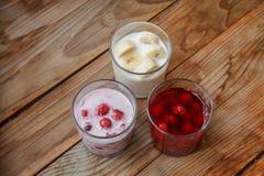 Вкусный десерт плодоовощ завтрака Стоковое фото RF